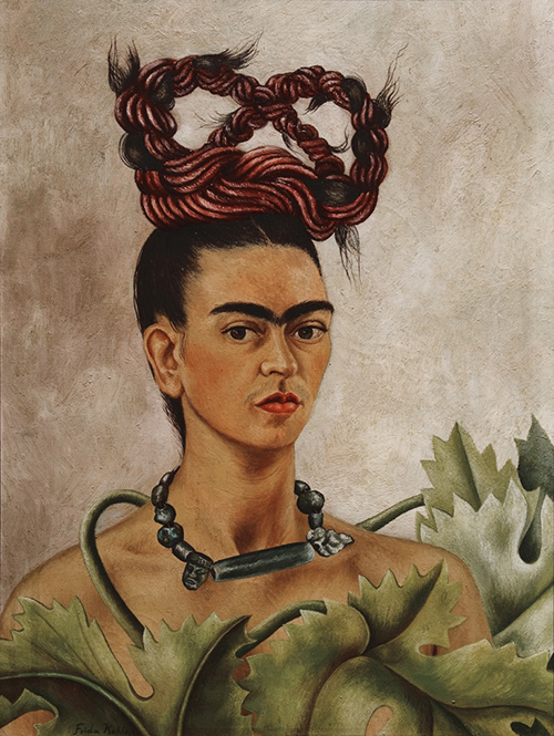 frida-kahlo-autoritratto-con-treccia-1941-the-jacques-and-natasha-gelman-collection-of-20th-century-mexican-art-and-the-vergel-foundation-cuernavaca