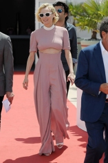 70th Cannes Film Festival 2017, Personalities leaving the party for 70th festival celebrations Pictured : Diane kruger