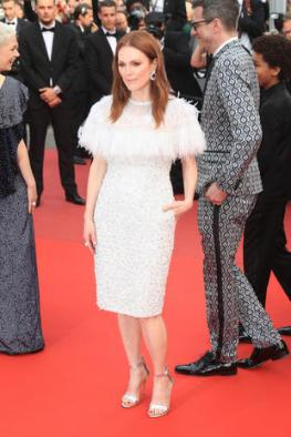 "CANNES, FRANCE - MAY 18: Julianne Moore attends the ""Wonderstruck "" screening during the 70th annual Cannes Film Festival at Palais des Festivals on May 18, 2017 in Cannes, France. (Photo by Antonio de Moraes Barros Filho/FilmMagic)"