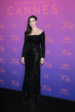 CANNES, FRANCE - MAY 17: Monica Bellucci attends the Opening Gala dinner during the 70th annual Cannes Film Festival at Palais des Festivals on May 17, 2017 in Cannes, France. (Photo by Venturelli/WireImage)