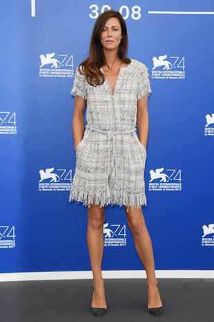 VENICE, ITALY - AUGUST 30: 'Venezia 74' jury member Anna Mouglalis attends the Jury photocall during the 74th Venice Film Festival at Sala Casino on August 30, 2017 in Venice, Italy. (Photo by Venturelli/WireImage)