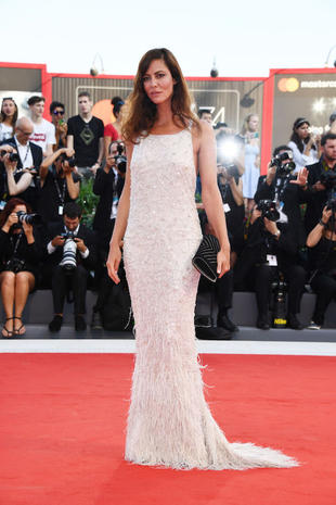VENICE, ITALY - AUGUST 30: Jury member Anna Mouglalis walks the red carpet ahead of the 'Downsizing' screening and Opening Ceremony during the 74th Venice Film Festival at Sala Grande on August 30, 2017 in Venice, Italy. (Photo by Pascal Le Segretain/Getty Images)