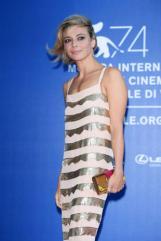 VENICE, ITALY - SEPTEMBER 01: Jasmine Trinca attends the Franca Sozzani Award during the 74th Venice Film Festival on September 1, 2017 in Venice, Italy. (Photo by Venturelli/WireImage)