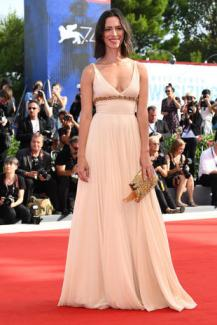 VENICE, ITALY - AUGUST 31: Jury member Rebecca Hall walks the red carpet ahead of the 'First Reformed' screening during the 74th Venice Film Festival at Sala Grande on August 31, 2017 in Venice, Italy. (Photo by Pascal Le Segretain/Getty Images)