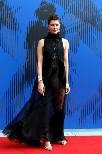 VENICE, ITALY - SEPTEMBER 01: Vittoria Puccini attends the The 1st Franca Sozzani Award during the 74th Venice Film Festival at Sala Giardino on September 1, 2017 in Venice, Italy. (Photo by Vittorio Zunino Celotto/Getty Images)